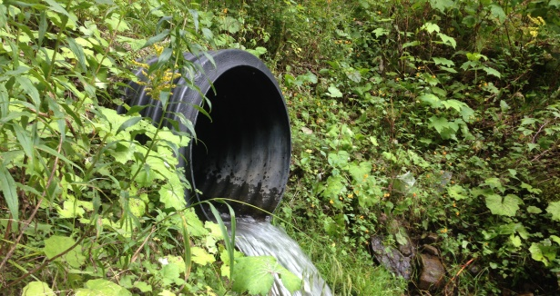 storm sewer pipes pe